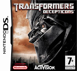 Transformers: Dark of the Moon - Deceptions DSi and DS Lite
