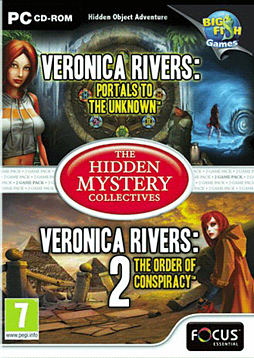 Veronica Rivers 1 & 2 PC Games Cover Art
