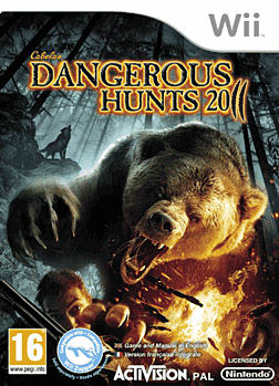 Dangerous Hunts 2011 Wii Cover Art