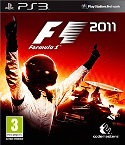Formula 1 2011 PlayStation 3 Cover Art