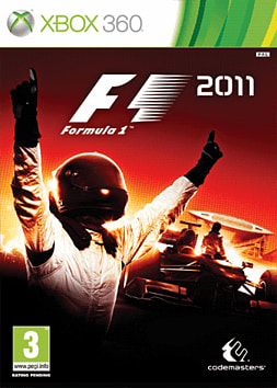 Formula 1 2011 Xbox 360 Cover Art