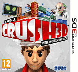 CRUSH3D 3DS Cover Art