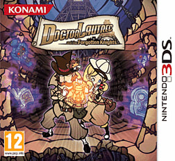 Dr Lautrec and the Forgotten Knights 3DS Cover Art