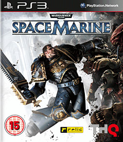 Warhammer 40K Space Marine PlayStation 3 Cover Art