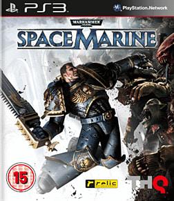 Warhammer 40K Space Marine PlayStation 3 Cover Art
