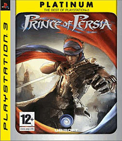 Prince of Persia Platinum Playstation 3 Cover Art