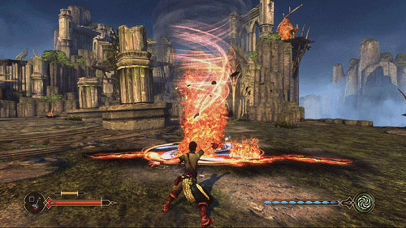 The Move controller becomes a magic wand in Sorcery on PlayStation 3 at GAME