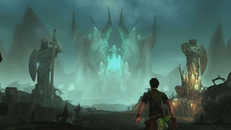 A lush Celctic fantasy world awaits in Sorcery for PS3 and PS Move at GAME