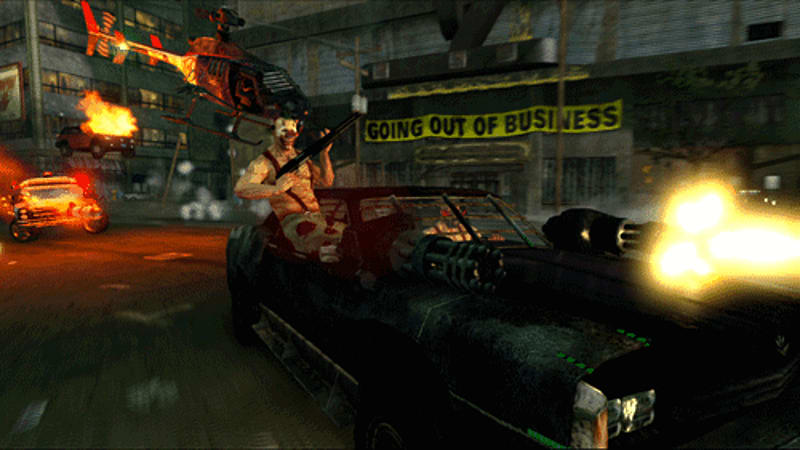 It's maximum car-nage in Twisted Metal on PS3