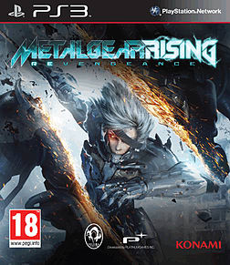 PS3 METAL GEAR RISING PlayStation 3 Cover Art