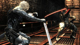 PS3 METAL GEAR RISING screen shot 1
