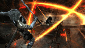 PS3 METAL GEAR RISING screen shot 4