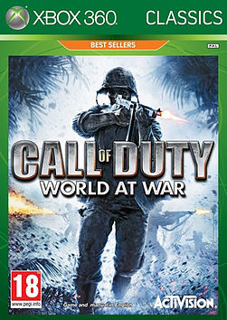 Call of Duty: World at War Classics Xbox 360 Cover Art