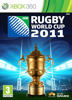 Rugby World Cup 2011 Xbox 360 Cover Art
