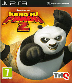 Kung Fu Panda 2 PlayStation 3 Cover Art