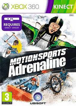 Motionsports: Adrenaline Xbox 360 Kinect Cover Art