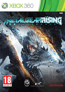 360 METAL GEAR RISING Xbox 360 Cover Art