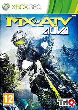 MX vs ATV ALIVE Xbox 360 Cover Art