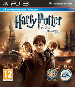 Harry Potter and the Deathly Hallows Part 2 PlayStation 3 Cover Art