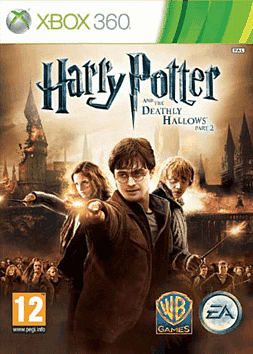 Harry Potter and the Deathly Hallows Part 2 Xbox 360 Cover Art