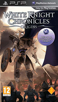 White Knight Chronicles Origins PSP Cover Art