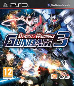 Dynasty Warriors Gundam 3 PlayStation 3 Cover Art