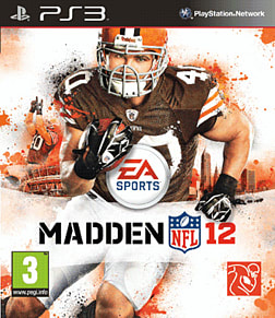 Madden NFL 12 PlayStation 3 Cover Art