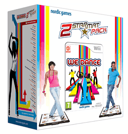 We Dance + 2 Mats Nintendo Wii Cover Art