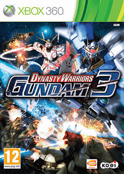 Dynasty Warriors Gundam 3 Xbox 360 Cover Art