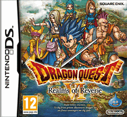 Dragon Quest VI: Realms of Reverie DSi and DS Lite Cover Art