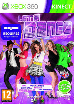 Lets Dance with Mel B Xbox 360 Kinect Cover Art