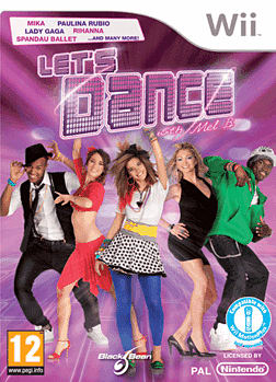 Lets Dance with Mel B Wii Cover Art
