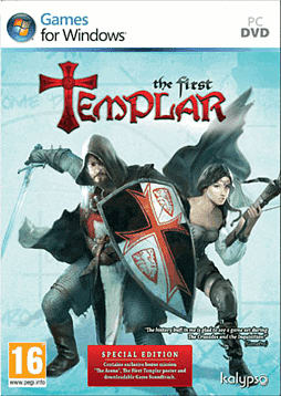 The First Templar Special Edition PC Games Cover Art