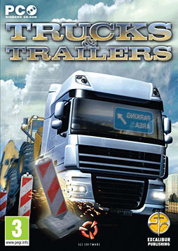 Trucks and Trailers PC Games Cover Art