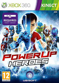 Power Up Heroes Xbox 360 Kinect Cover Art