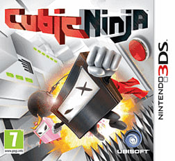 Cubic Ninja 3DS Cover Art