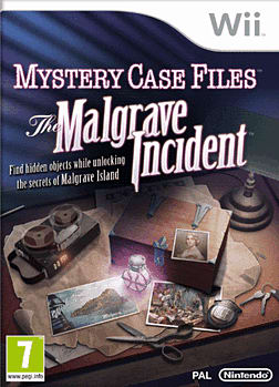 Mystery Case Files: The Malgrave Incident Wii Cover Art