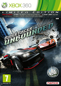 Ridge Racer Unbounded Xbox 360 Cover Art