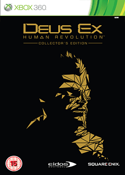 Deus Ex: Human Revolution Collectors Edition Xbox 360