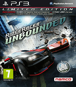 Ridge Racer Unbounded PlayStation 3 Cover Art