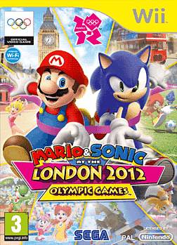 Mario and Sonic at the London 2012 Olympic Games Wii Cover Art