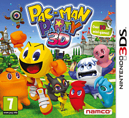 Pac-Man Party 3D 3DS Cover Art