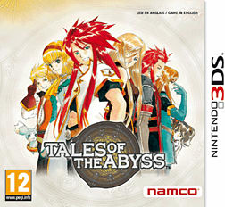 Tales of the Abyss 3DS Cover Art