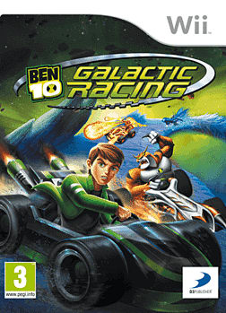Ben 10 Galactic Racing Wii Cover Art