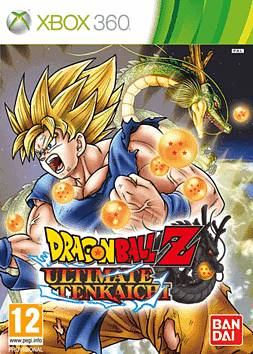 Dragon Ball Z Ultimate Tenkaichi Xbox 360 Cover Art