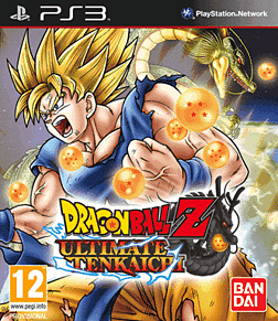 Dragon Ball Z Ultimate Tenkaichi PlayStation 3 Cover Art