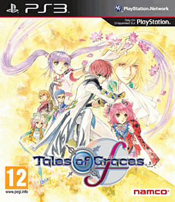 Tales of Graces F Special Edition PlayStation 3 Cover Art