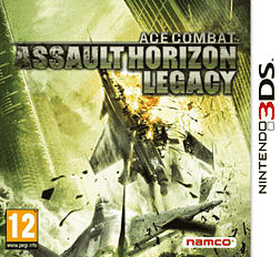Ace Combat Assault Horizon Legacy 3DS Cover Art