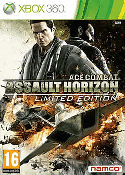 Ace Combat Assault Horizon Limited Edition Xbox 360 Cover Art