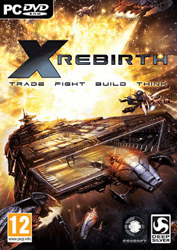 X Rebirth PC Games Cover Art